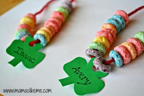 Shamrock Rainbow Necklace