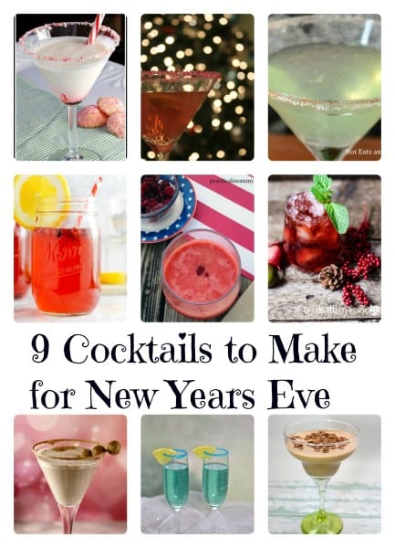 9 Cocktails to Make for New Years Eve final