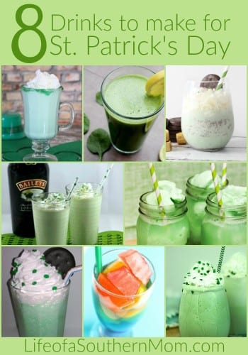 StPatricksDayDrinks-pin7008 Drinks to Make for St. Patrick's Day