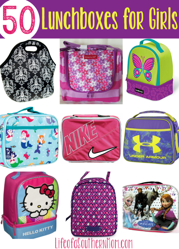 50 Lunchboxes for Girls