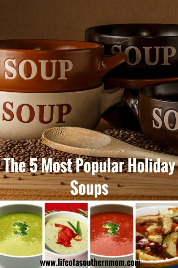Check out the 5 most popular holiday soups!