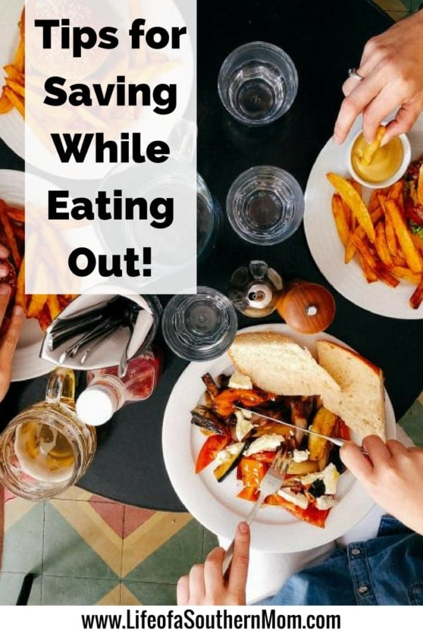 Here are a few tips for how you can save money while eating out so you can maintain your budget and still enjoy a good meal that you didn't have to cook for yourself