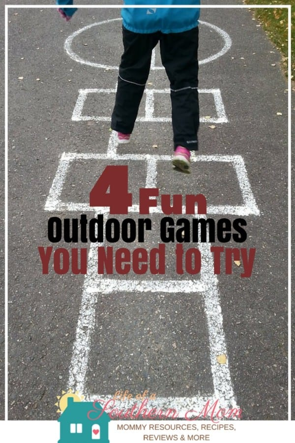 Here are some different outdoor games your kids can play that will keep them active without becoming a boring exercise.