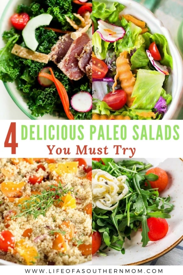 Salads are a great option for a filling lunch or dinner, or even as a snack in between meals when you're hungry and want to fill up on veggies and lean protein. Here are some Paleo-approved salads to try out.