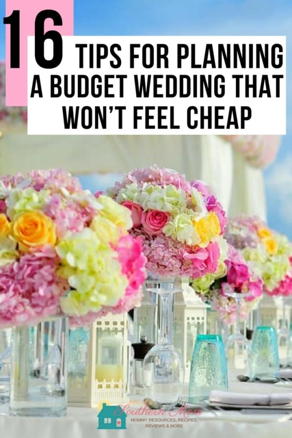 Tips to help you put together the perfect budget wedding.