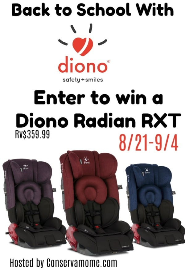 Diono Back to School Giveaway