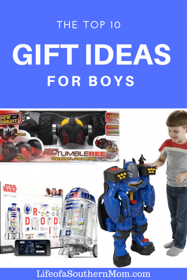 The top 10 gift ideas for boys