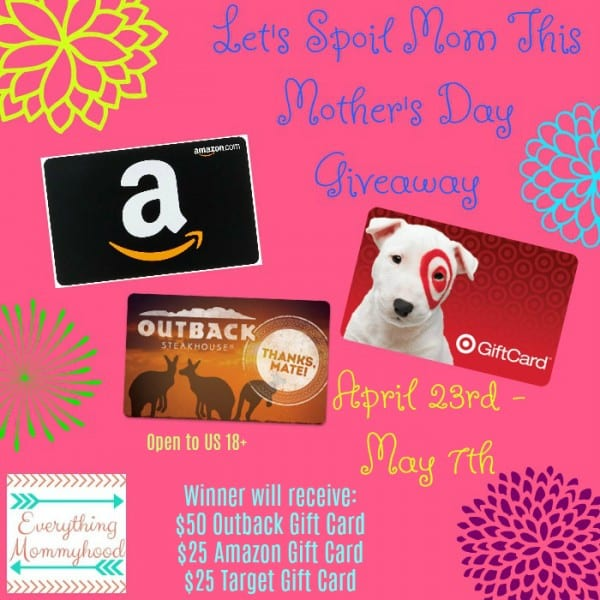 Mothers Day Gift Cards